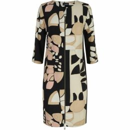 James Lakeland Collage Print Zip Dress