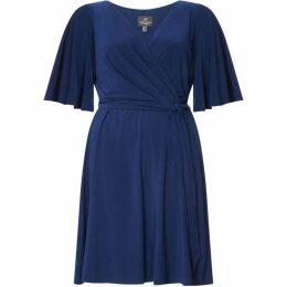 Adrianna Papell Matte Jersey Wrap Dress