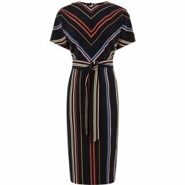 Warehouse Georgia Stripe Dress