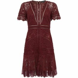 French Connection Chante Lace Mix Dress