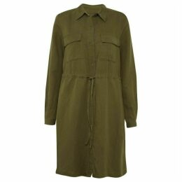 French Connection Briella Lyocell Shirt Dress