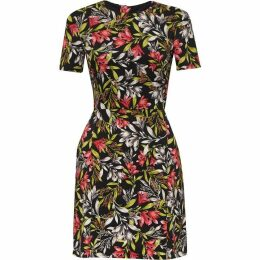 French Connection Cadencia Stretch Floral Dress