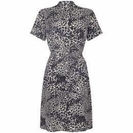 Yumi Curves Leopard Print Dress