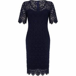 Mela London Curve Floral Lace Bodycon Dress