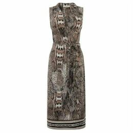 Oasis Snake Shirt Dress