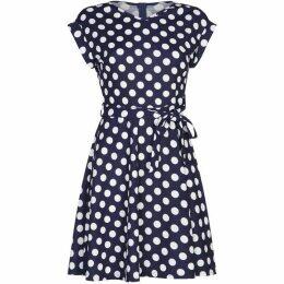 Mela Polka Dot Skater Dress