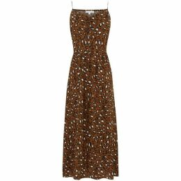Warehouse Leopard Print Cami Dress