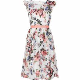 Gina Bacconi Brinda Chiffon Dress