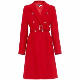 Damsel in a Dress Roxi Large Pocket Belted Coat