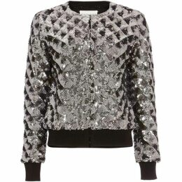 Damsel in a Dress Oretta Sequin Bomber Jacket