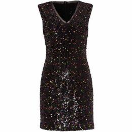 Damsel in a Dress Albanie Neon Sequin Dress