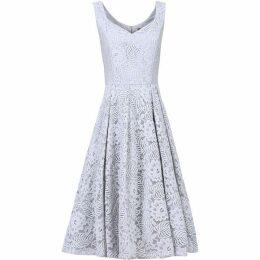 Jolie Moi Sweetheart Neck Lace Dress