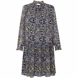 Great Plains Speckled Flower Belted Dress