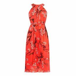 Karen Millen Pleated Floral Dress