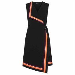 Karen Millen Sleeveless Wrap Dress