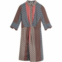 Sandwich Mosaic Print Shirt Dress