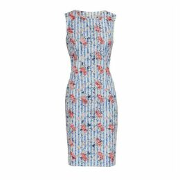 Gina Bacconi Savera Stripe Shift Dress
