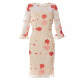 Gina Bacconi Annie Embroidered Dress