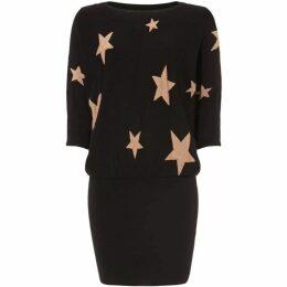 Phase Eight Becca Star Jacquard Knit Dress