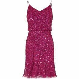 Adrianna Papell Short Blouson Dress