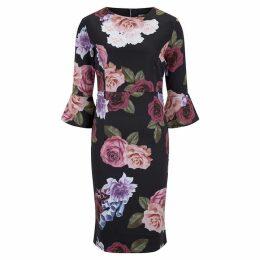 Havren Tessa Rose Print Dress