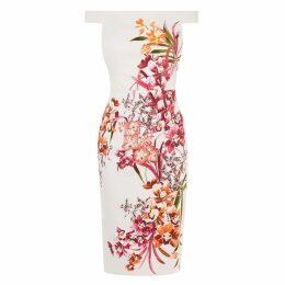 Karen Millen Orchid Floral Pencil Dress