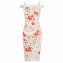 Karen Millen Floral Pencil Dress