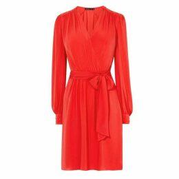 Karen Millen Ruched Wrap Dress