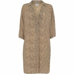Whistles Mini Leopard Lola Dress