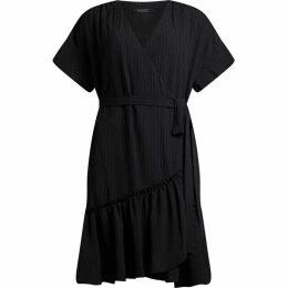 All Saints Rene Wrap Dress