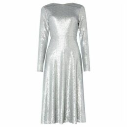 Tfnc Sequin fit and flare dress