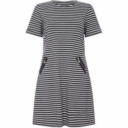 Yumi Nautical Stripe Tunic Dress