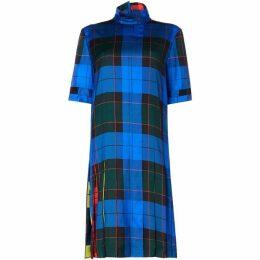 Escada Short sleeve checked dress