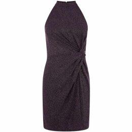 Oasis Glitterball Twist Tube Dress