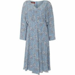 Max Mara Studio Ombrosa v neck floral dress