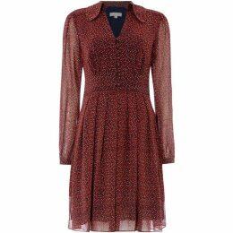 MICHAEL Michael Kors Vine print dress with belt