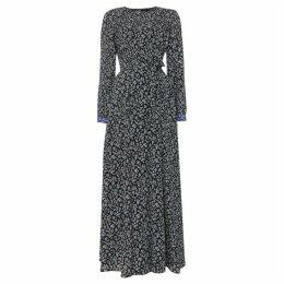 Max Mara Weekend Tasso tie waist floral shift dress