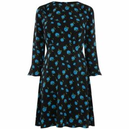 Oasis Blue Rose Dress