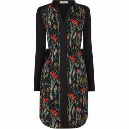 Oasis Flora Woven Front Shirt Dress
