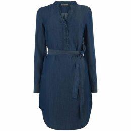 Oasis Frill Collar Dress