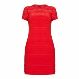 Adrianna Papell A-Line Banded Mini Dress