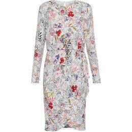 Gina Bacconi Klea Floral Print Dress