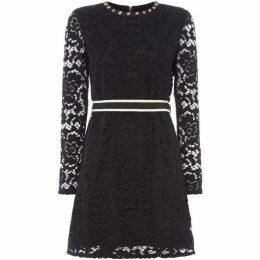 Juicy Couture Long Sleeve Lace Dress