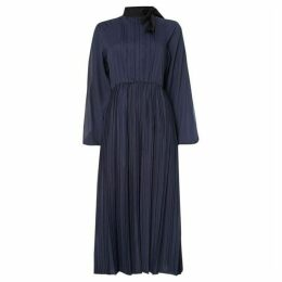 Sportmax Code Odeon single sleeve dress with pleating