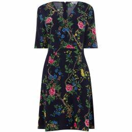 Warehouse Verity Floral Wrap Dress