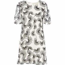 Lavand Floral Print Dress