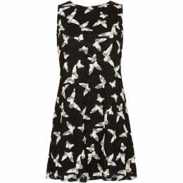 Izabel Bird Print Lace Dress