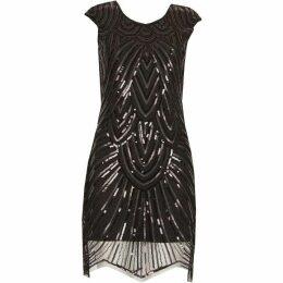 Izabel Sequin Bodycon Dress