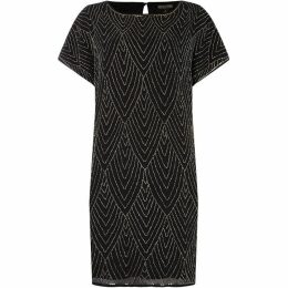 Biba Embellished Volume Sleeve Dress