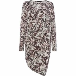 Label Lab REMLEY REED PRINT DRESS